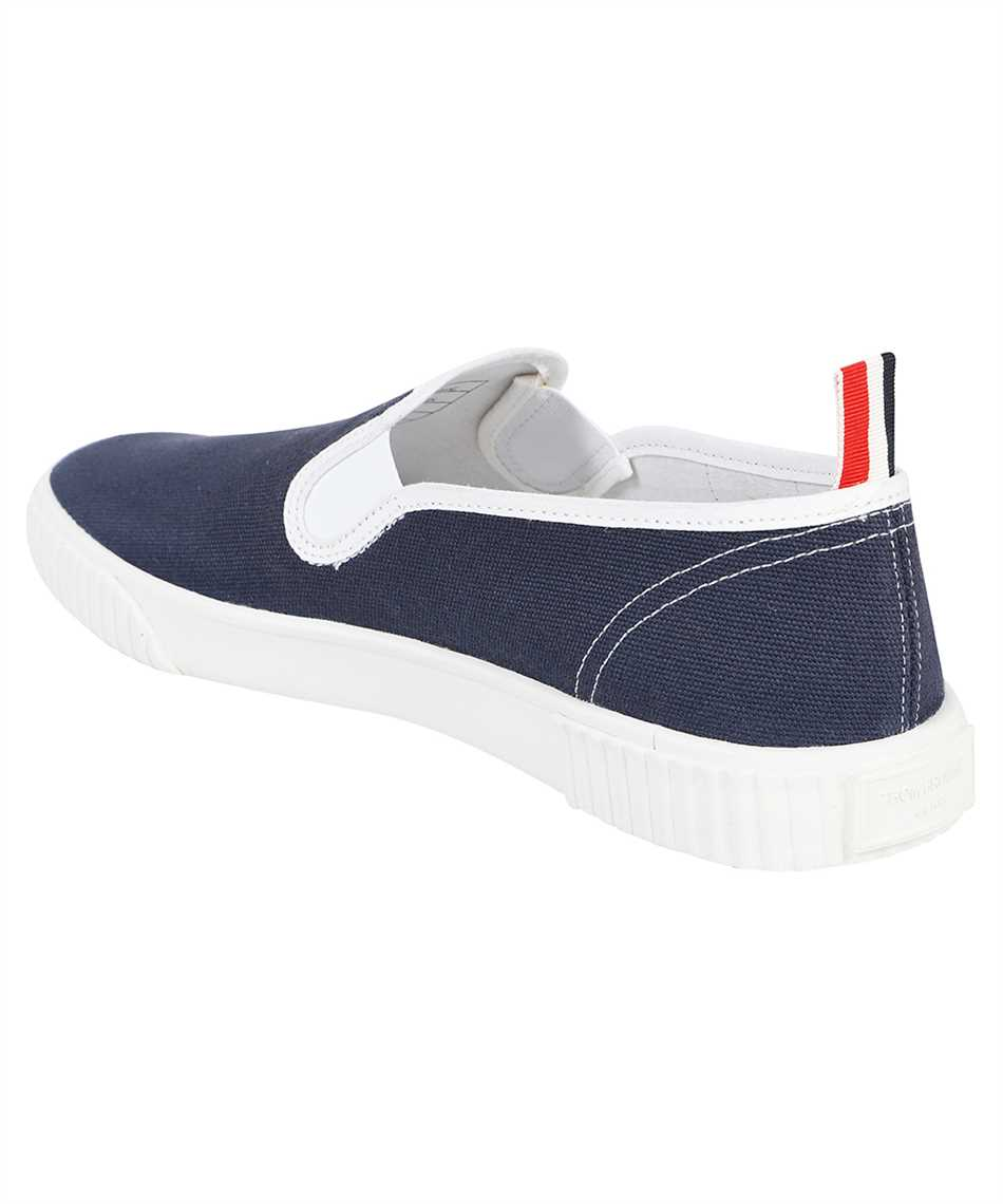 Thom Browne MFL064A 01588 CANVAS SLIP-ON HERITAGE TRAINER Sneakers 3