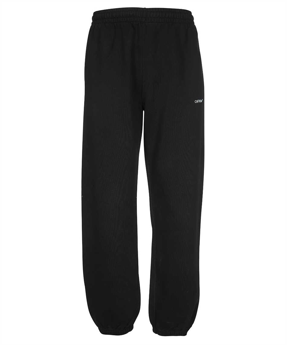 Off-White OMCH029F21FLE006 MARKER SLIM Trousers 1