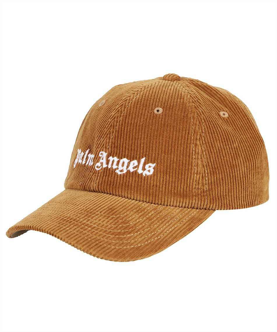 Palm Angels PMLB003F21FAB001 CORDUROY LOGO Cap 1