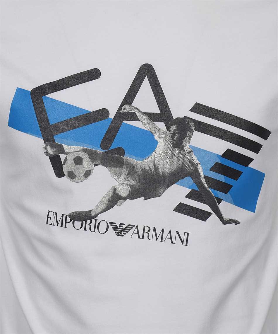 EA7 3KPT30 PJACZ LOGO STRETCH JERSEY T-shirt 3