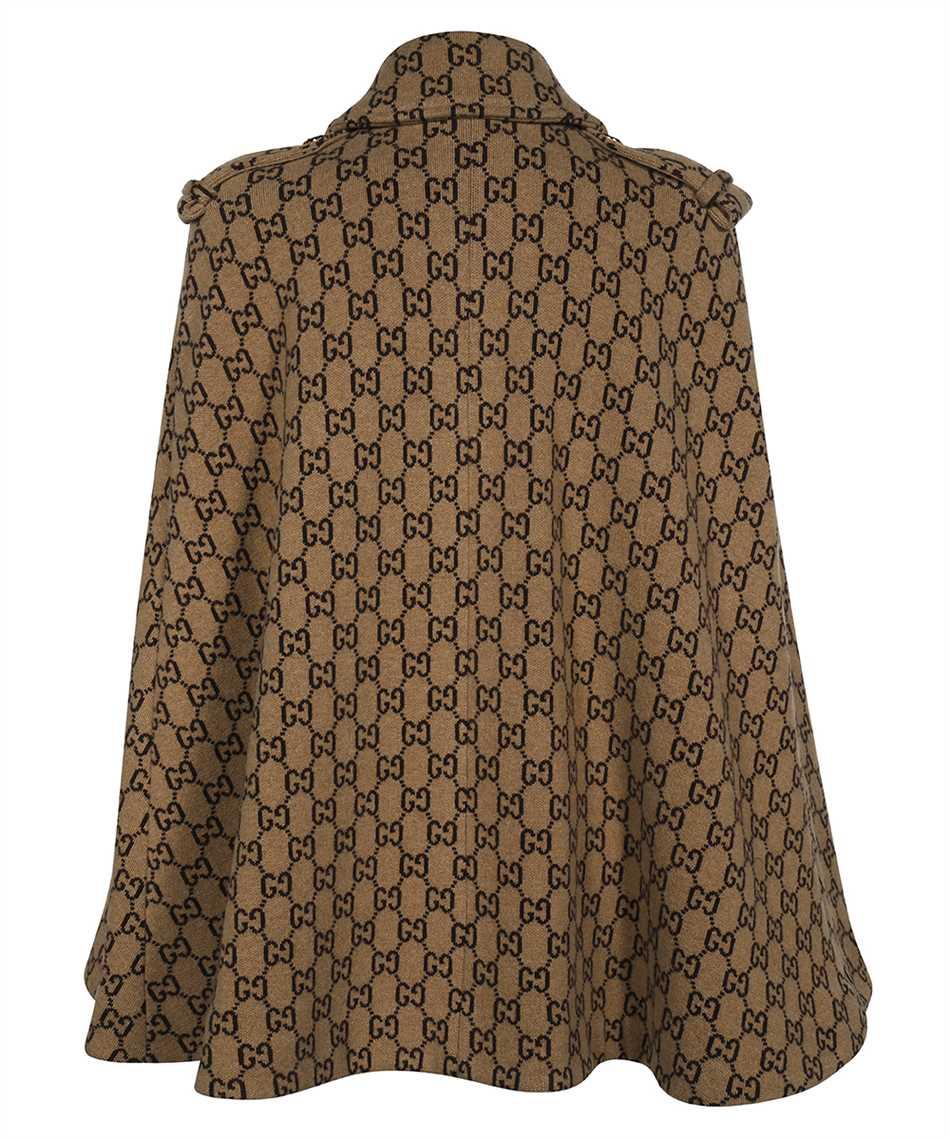 Gucci 610488 XKA5U GG WOOL Cappotto 2