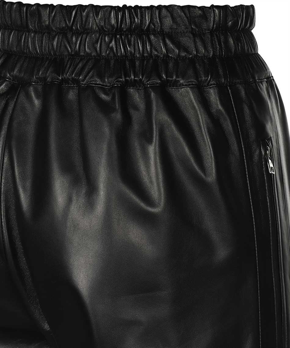 Alexander McQueen 668453 Q5AGP LEATHER Trousers 3