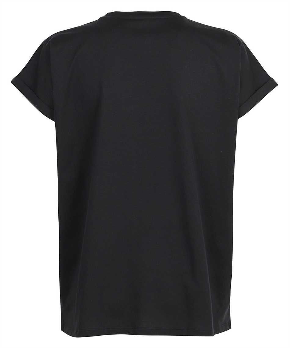 Balmain WF1EF010B013 FLOCKED LOGO T-shirt 2