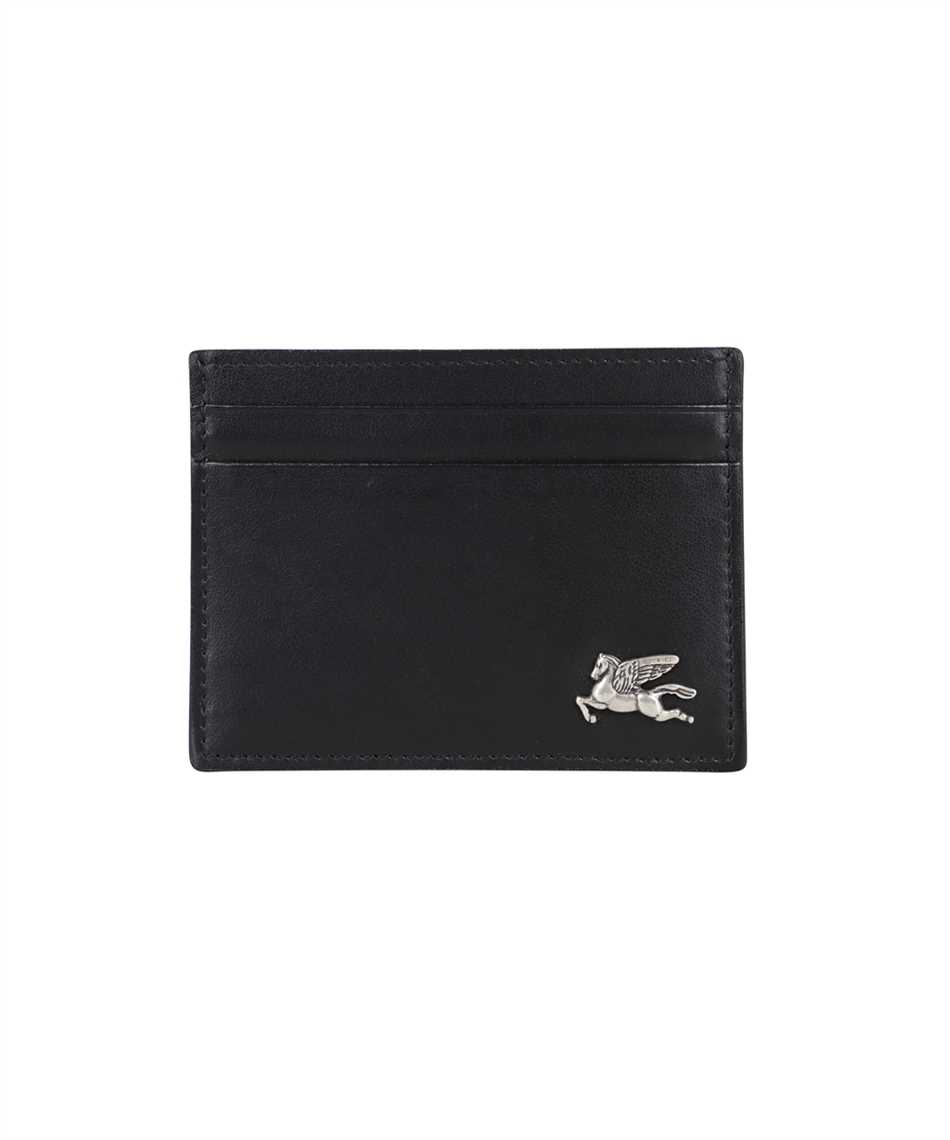 Etro 1H769 2444 LEATHER PEGASO Card holder 1