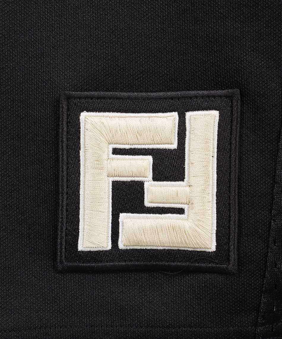 Fendi FAB603 A528 ACTIVE NY MESH Shorts 3