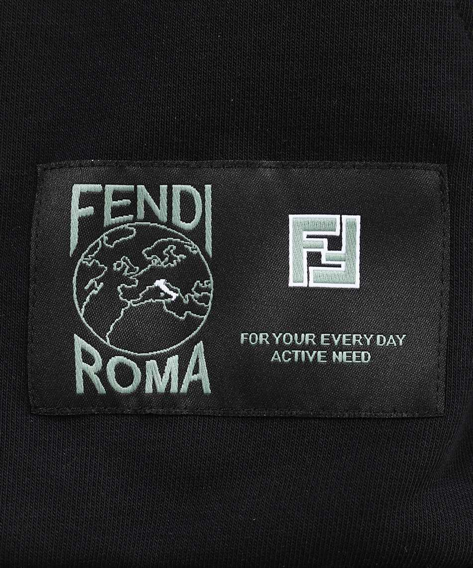 Fendi FAF588 A529 JERSEY WITH FF RIBBON Hoodie 3