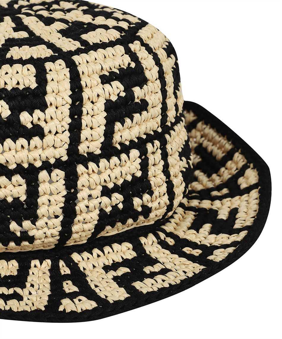 Fendi FXQ688 ADRH RAFFIA BUCKET Hat 3