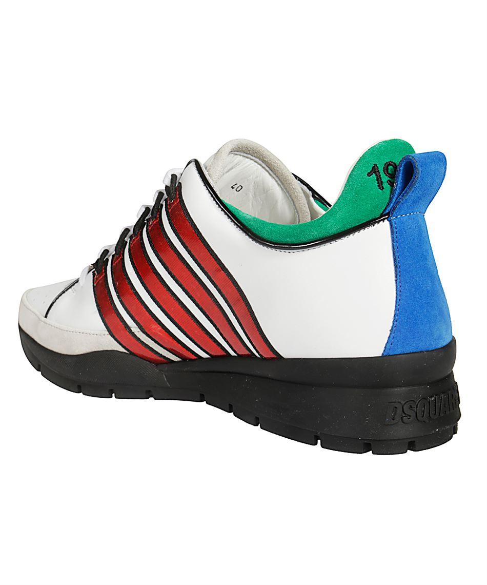 3bf425a532 Dsquared2 SNM0057 06501747 scarpe in pelle di vitello Multicolore