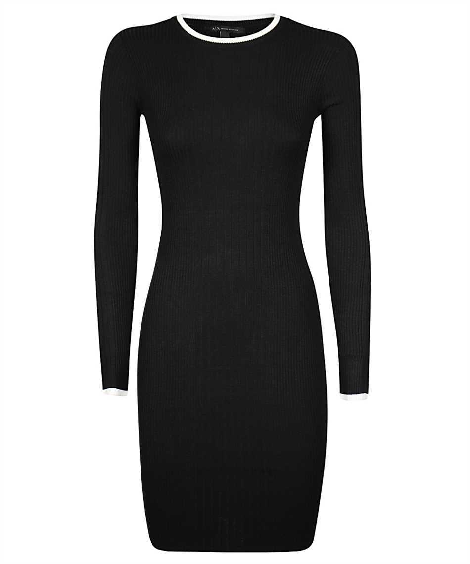 Armani Exchange 6HYA1F YME5Z MIXED VISCOSE KNIT Dress 1