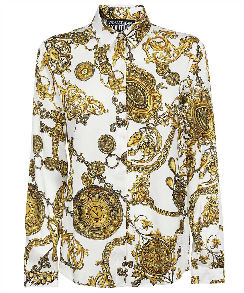 Versace Jeans Couture 71HAL201 NS007 BAROQUE PRINT Camicia 1