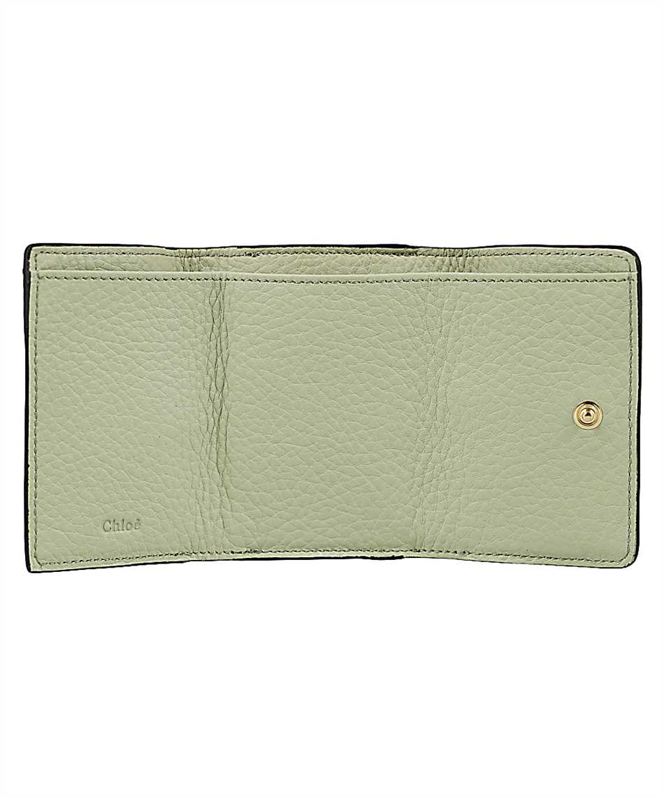 Chloé CHC17UP719H9Q ALPHABET MINI TRI-FOLD Wallet 3