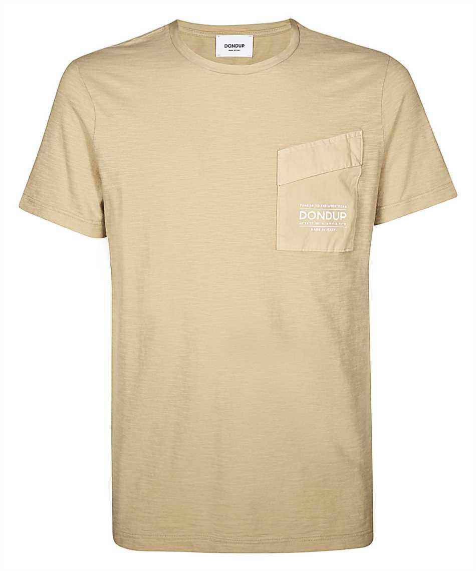 Don Dup US198 JF0195U ZC7 CHEST POCKET T-shirt 1