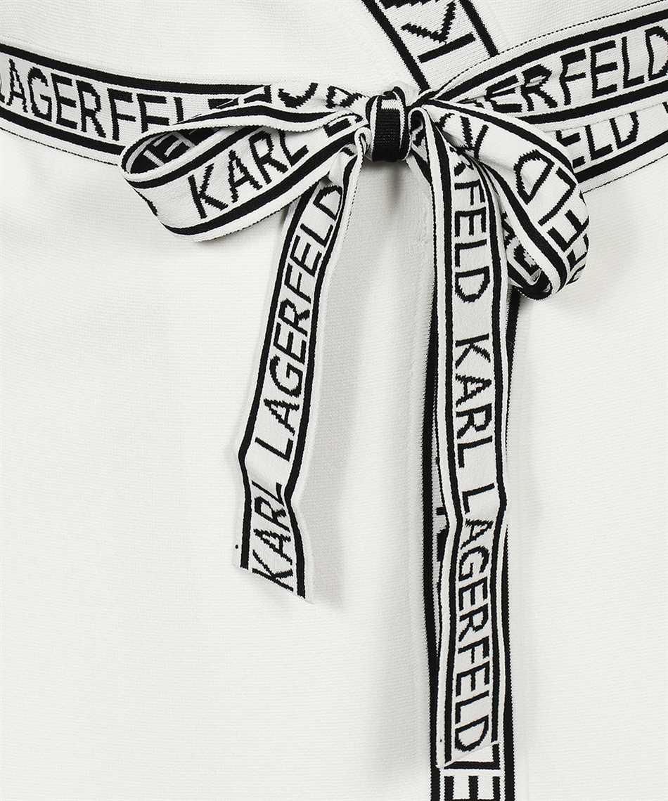 Karl Lagerfeld 215W1330 KNITTED WRAP Dress 3