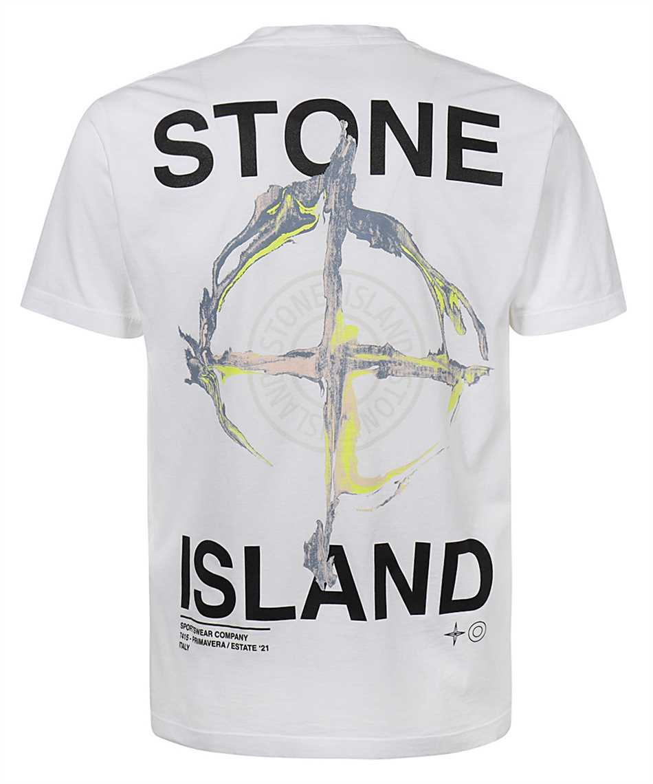 Stone Island 2NS85 MARBLE THREE T-shirt 2