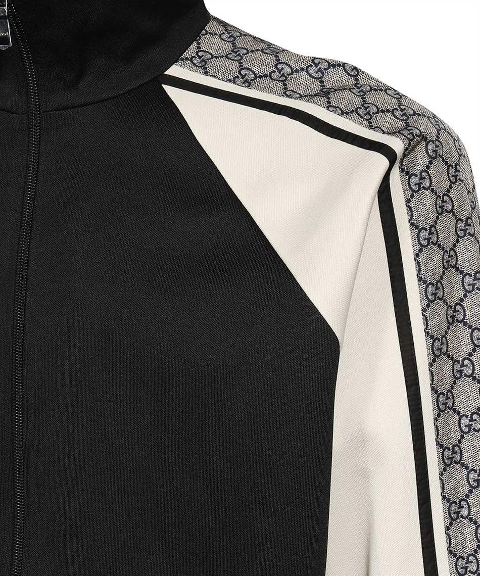 Gucci 545601 XJACZ OVERSIZE TECHNICAL JERSEY Jacket 3