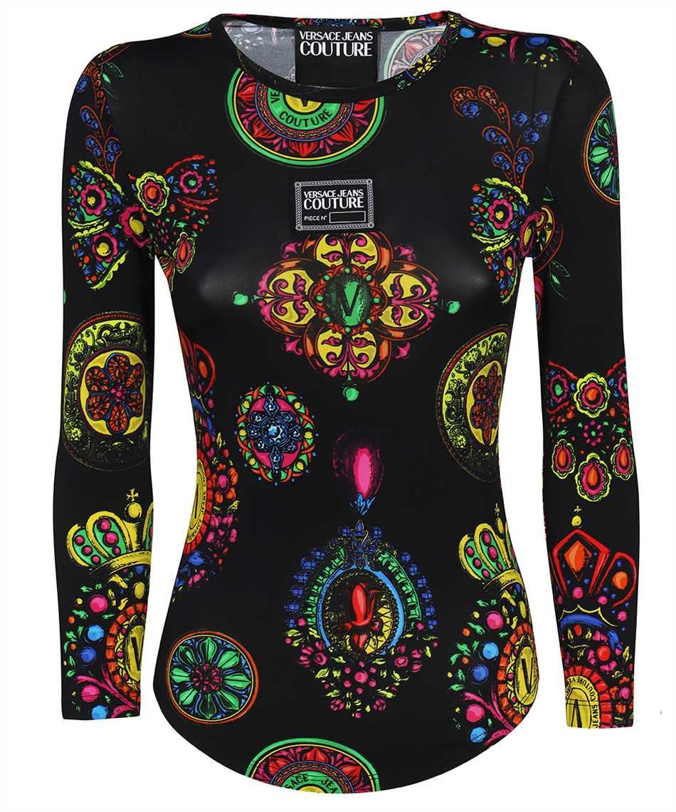 Versace Jeans Couture 71HAH216 JS011 FLUIDO PRINT T-Shirt 1