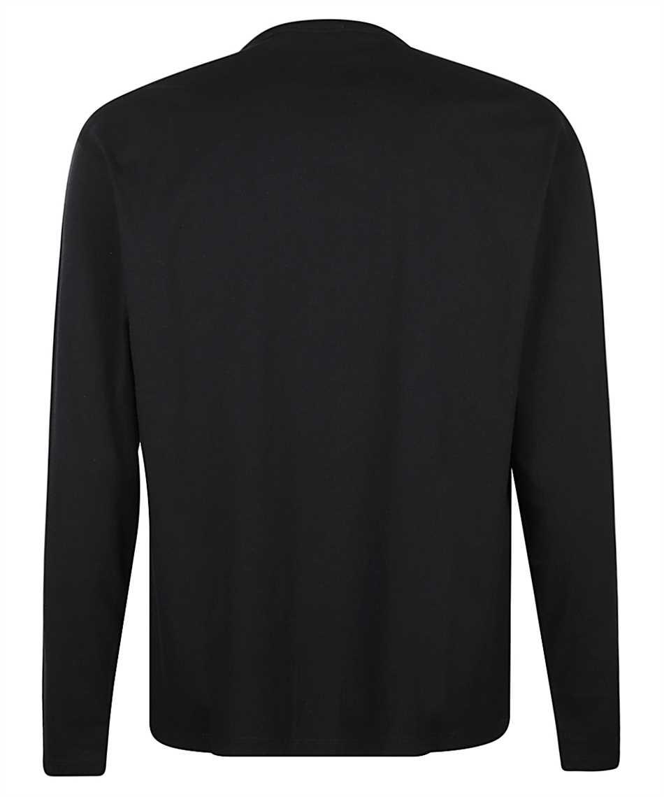 Maison Kitsune FU00163KJ0010 FOX HEAD PATCH REGULAR LONG-SLEEVED T-Shirt 2